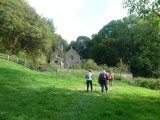 Approaching Llandyfeisant Church