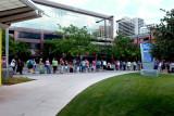 Still standing in line......