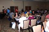Pre-convention event at the Raddison Hotel