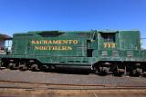 Sacramento Northern Locomotive 712