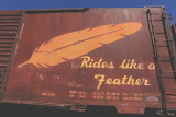 Rides  like a feather