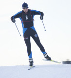 Chugiak's Peter Brewer skied to 14:25.0 for 12th place