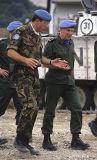 British commander and UN commander