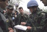 Colonel Bob Stewart in the Bosnian hills