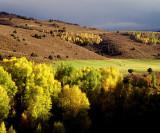 Fall Landscape near McClure Pass