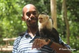 White-faced Capuchin and me