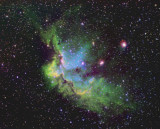 NGC7380 and Sharpless 2-142