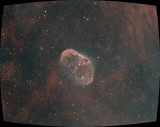 NGC6888 Ha-sG-Oiii with curvature corrected using radial distortion