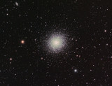 M13 Star Cluster, reprocessed