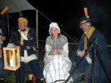 Kompanichefen, fröken Tilander och en glad Roger Ankén