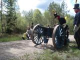 Finska artilleriet klara