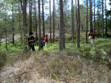 Norska jägare tar terräng