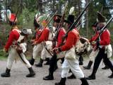 På marsch mot fronten