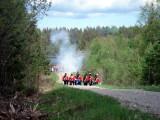 Norska linjen besvarar elden