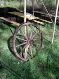 Kvarglömt vagnshjul