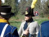 Kaptenen informerar om statskuppen i Stockholm