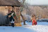 Vid detta tillfälle hade paret tagit sig till byn Äskhult på halländska sidan gränsen
