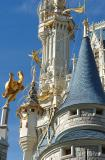 Cinderella's Castle DetailMagic Kingdom