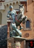 St. George & The Dragon StatueGermany PavilionEpcot