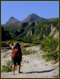 Hiking up Pinatubo
