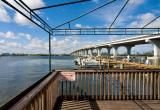 Indian River, pier and bridge