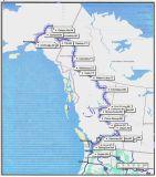Washington - Canada - Alaska