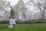 fountain at Rosecliff