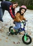 December 25, 2005A 1st Bike for Christmas