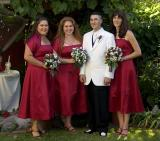 Brandon and Bridesmaids