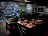 Damien's Armageddon Planning Room...