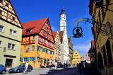 Picturesque Rothenburg, Bavaria