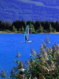 Windsurfing in French Alps
