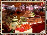 Farmers Market in Nurnberg, Bavaria