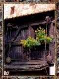 XIV Century Old Window in Nurnberg, Bayern