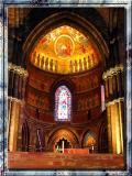 Inside of Splendid Cathedral In Strasburg, France