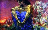 Symbolism By Michael Vrubel, - The Sitting Demon