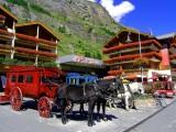 Bahnhof Square, Zermatt, Swiss Alps