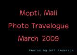 Mopti, Mali (March 2009)