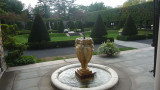 Fountain on the terrace facing the southern Inner Garden designed by William Welles Bosworth.