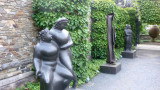 This sculpture entitled Two Females Nudes was also by Eli Nadelman and acquired by Nelson.