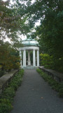 The Temple of Venus was designed by Bosworth to house the Venus sculpture, a favorite of Junior's.