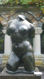 Sculpture created in 1906, named Torso, by French artist Aristide Maillol.