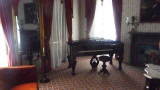 The Formal Parlor where politics was discussed with traveling politicians.