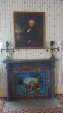 Portrait of Van Buren in the Formal Parlor. He got the nickname, Little Magician, for his silver tongue with politics.