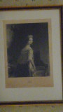 This is probably a portrait of Elizabeth Vanderpoel since it hangs in John's Bedroom.