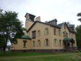 A southern view of Martin Van Buren's house.