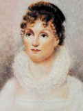 Hannah Van Buren as a young women. She died at age 35 of tuberculosis. Painting is now part of the Granger Collection, New York.