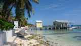 I started walking along the beach from Royal Caribbean Resort to the town of San Pedro.