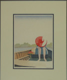 Shy that way  965H Beeman Sale 400 Rent 10  19x23 Japanese Woodblock Print.jpg