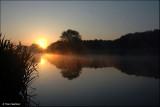 Zonsondergang - Oude Leiearm Bavikhove